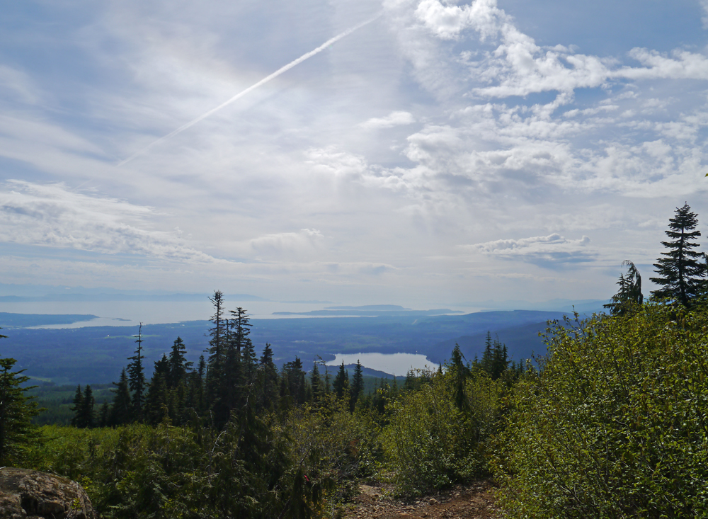 View from Wood Mountain Ski Park