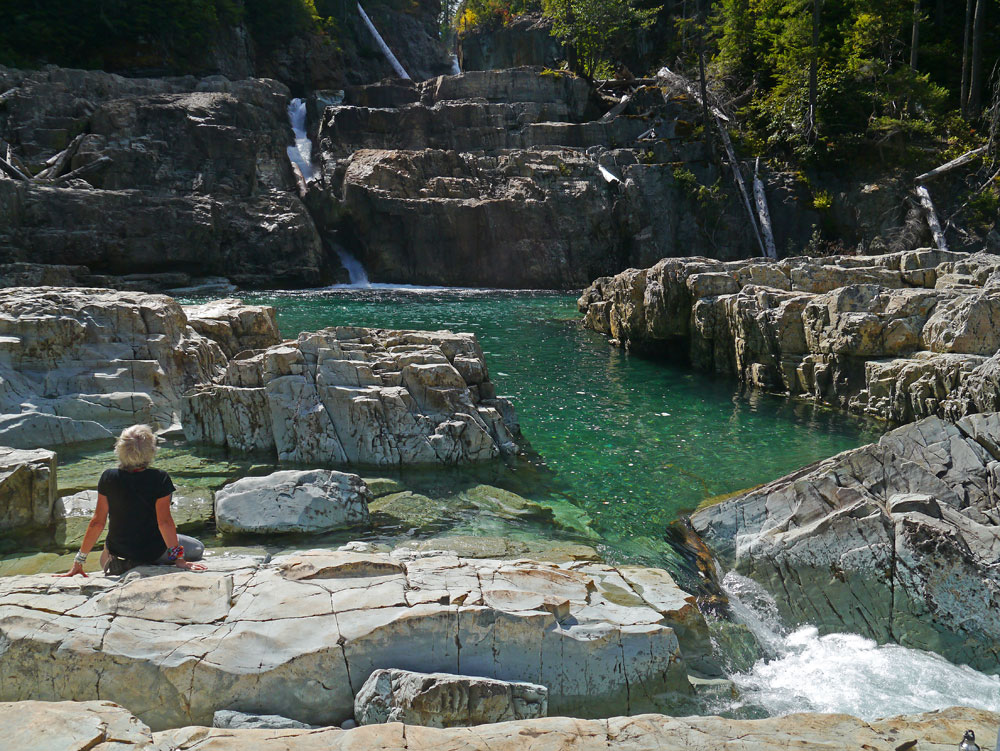Lower Myra Falls Pool
