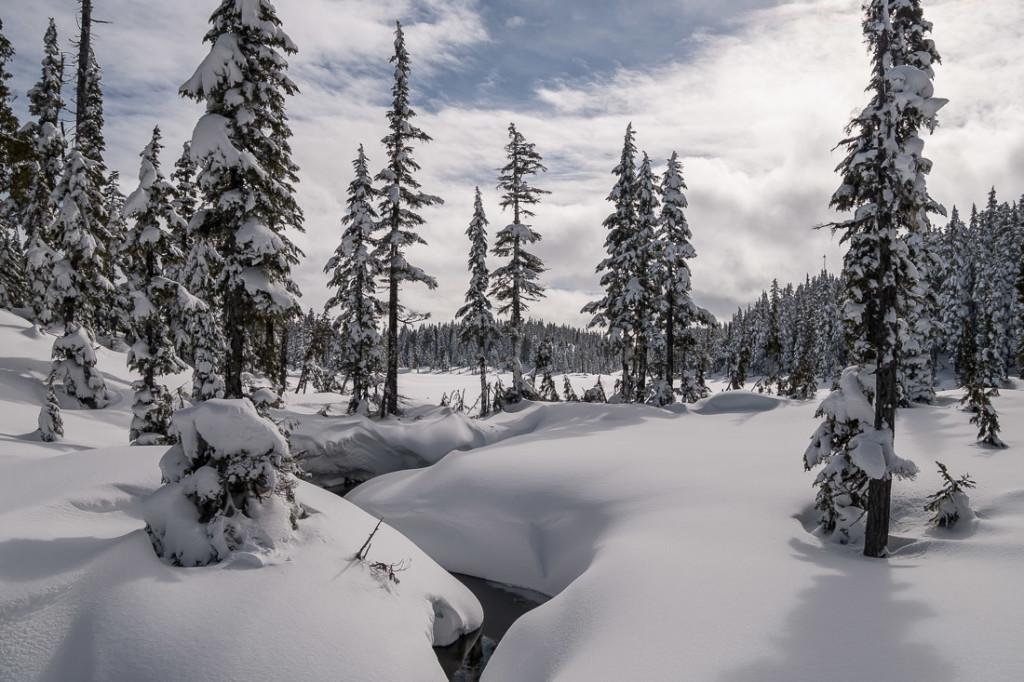 Outflow Creek from Battleship Lake